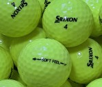 Srixon Soft Feel Gelb