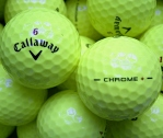 Callaway HEX Chrome+ (Plus) Gelb