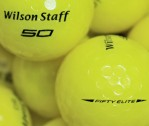 Wilson Staff Fifty Gelb