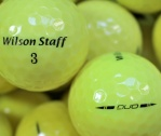 Wilson Staff DUO Gelb